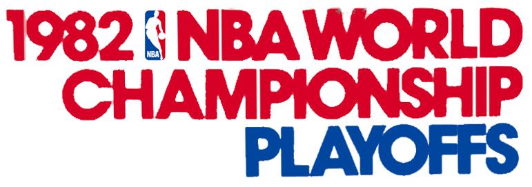 NBA Playoffs Logo Primary Logo (1981/82) - 1982 NBA Playoffs Logo SportsLogos.Net