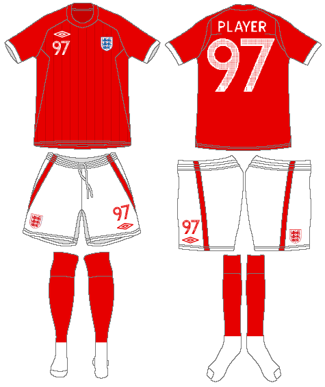 England  Uniform Road Uniform (2010-2011) -  SportsLogos.Net