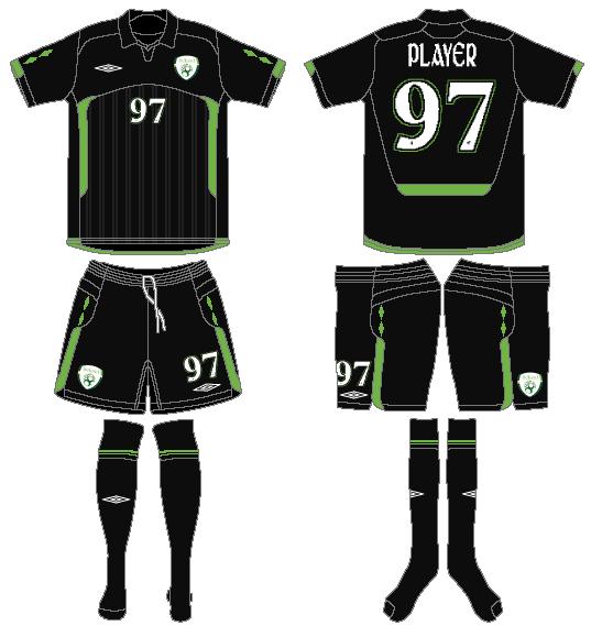 Ireland  Uniform Alternate Uniform (2009-2010) -  SportsLogos.Net