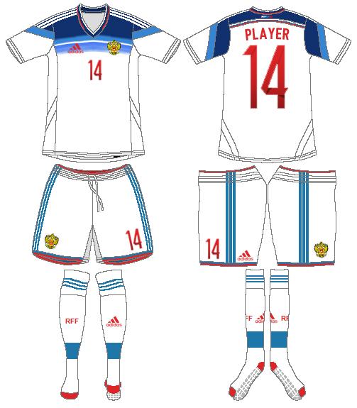 Russia  Uniform Road Uniform (2014-Pres) -  SportsLogos.Net