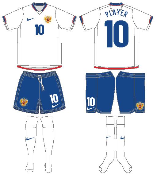Russia  Uniform Road Uniform (2006-2008) -  SportsLogos.Net