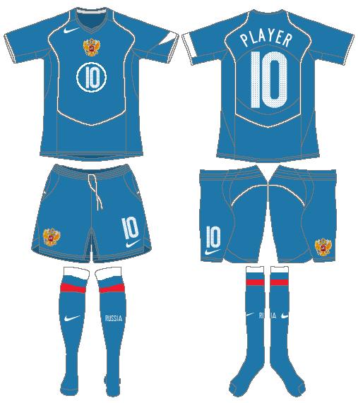 Russia  Uniform Road Uniform (2004-2006) -  SportsLogos.Net
