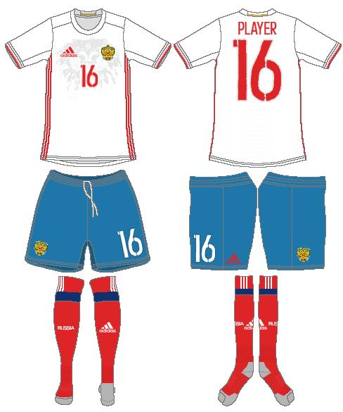 Russia  Uniform Road Uniform (2016-2018) -  SportsLogos.Net