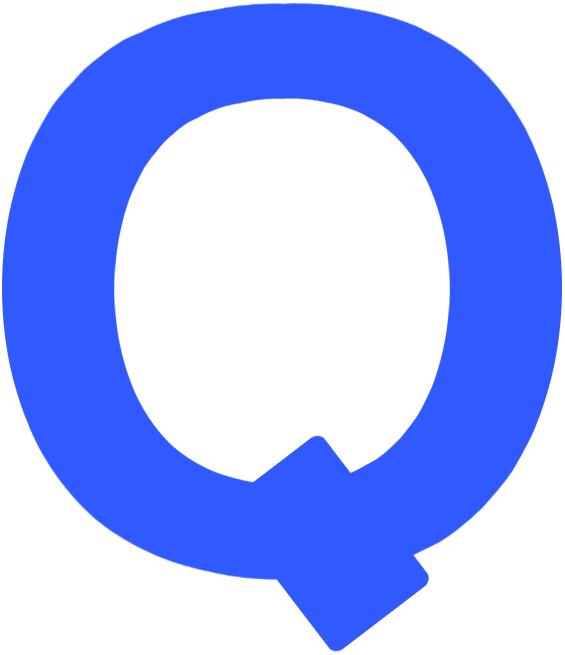 Quebec Bulldogs Logo Primary Logo (1910/11-1911/12) - A blue Q SportsLogos.Net