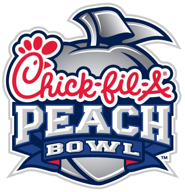 Peach Bowl Logo Primary Logo (2014-Pres) -  SportsLogos.Net