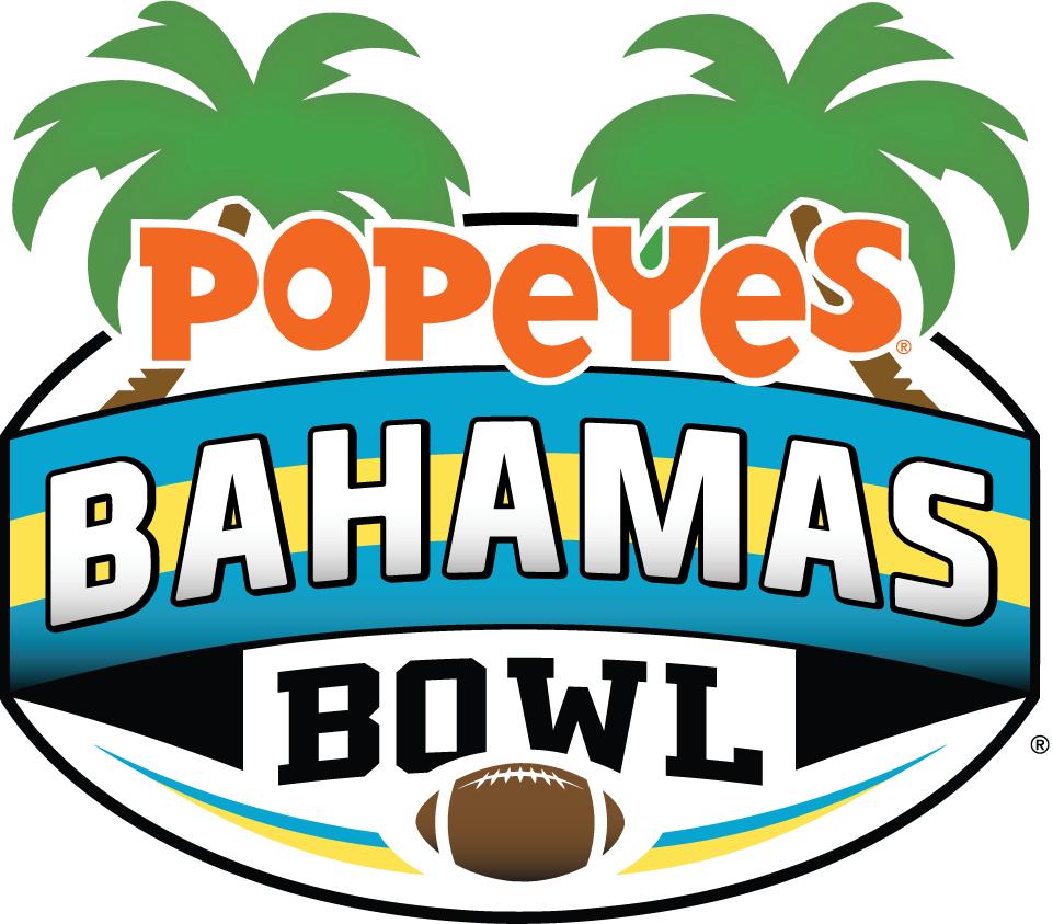 Bahamas Bowl Logo Primary Logo (2014-2016) - Popeyes Bahamas Bowl SportsLogos.Net