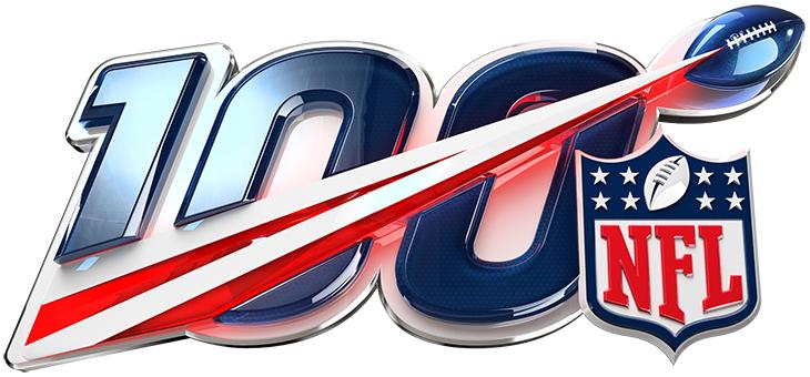 National Football League Logo Anniversary Logo (2019) - NFL 100th anniversary logo SportsLogos.Net