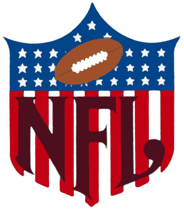 National Football League Logo Primary Logo (1953-1958) -  SportsLogos.Net
