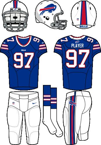145e2d15 Buffalo Bills Home Uniform - National Football League (NFL) - Chris ...