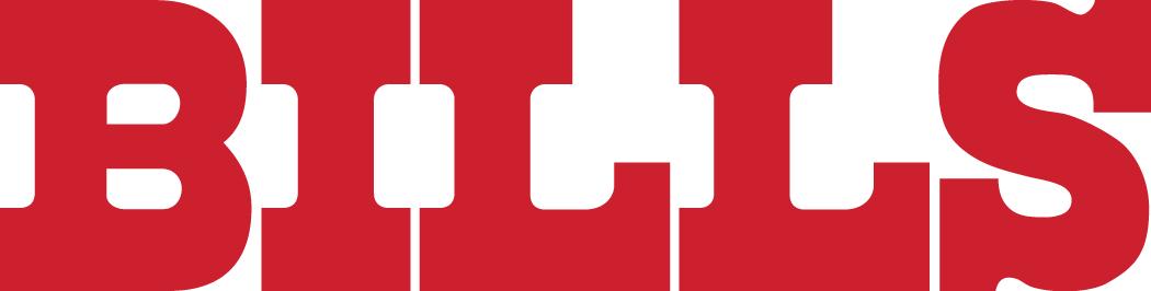 Buffalo Bills Logo Wordmark Logo (1974-2010) - Bills in bold red serif SportsLogos.Net
