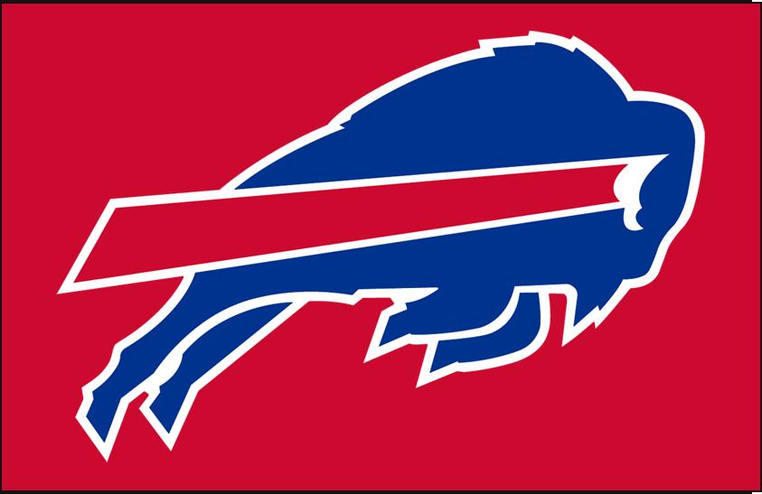 Buffalo Bills Logo Helmet Logo (1984-2010) - Bills logo on red, worn as their helmet logo from 1984 to 2010 SportsLogos.Net