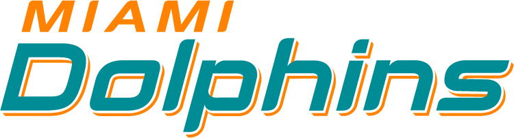 Miami Dolphins Logo Wordmark Logo (2013-Pres) -  SportsLogos.Net