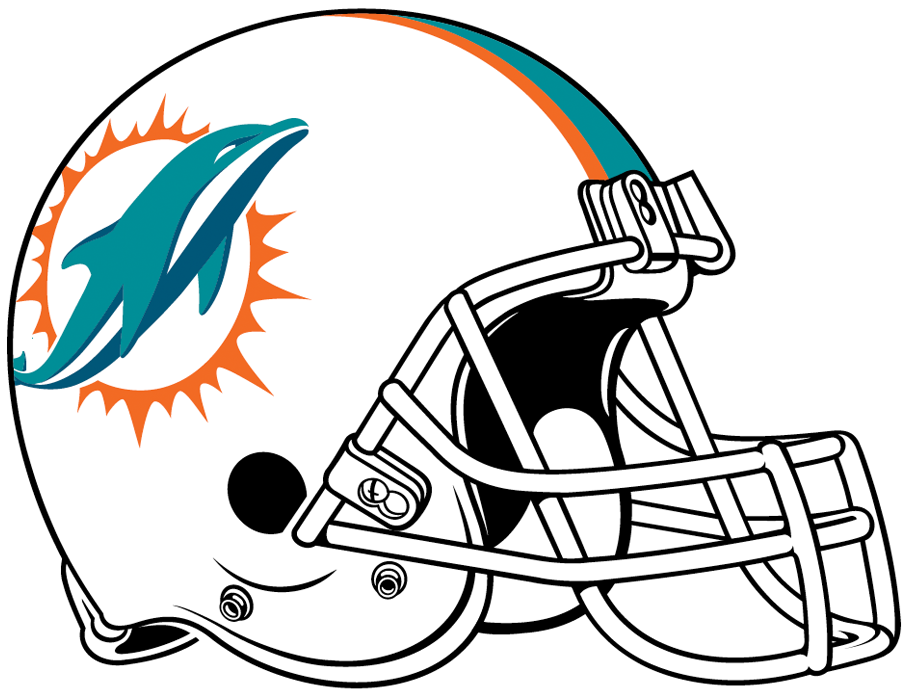 miami dolphins helmet national football league nfl