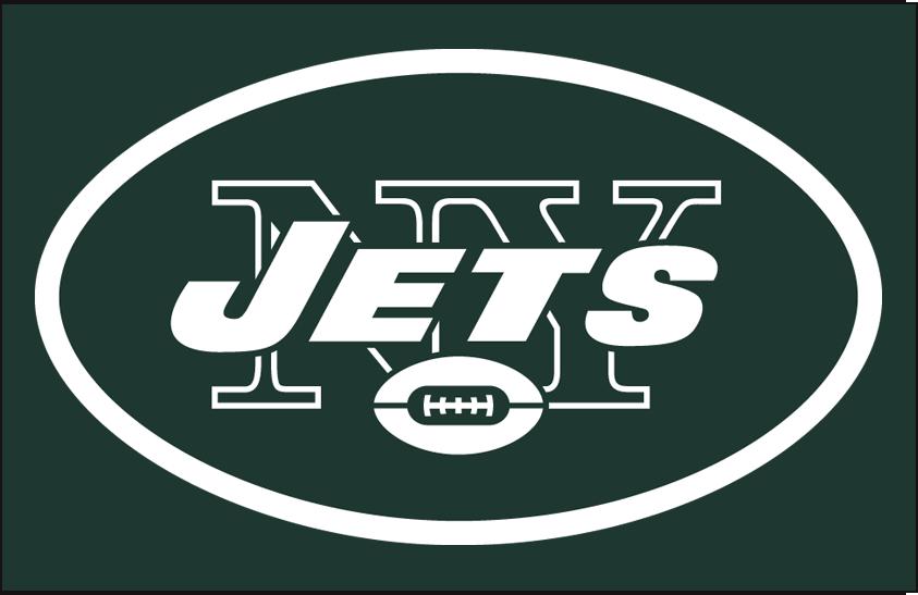 New York Jets Logo Primary Dark Logo (1998-2018) -  SportsLogos.Net