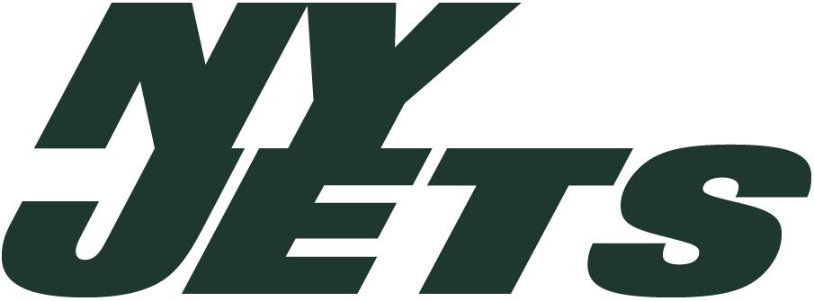 New York Jets Logo Alternate Logo (2011-2018) - NY JETS in green SportsLogos.Net