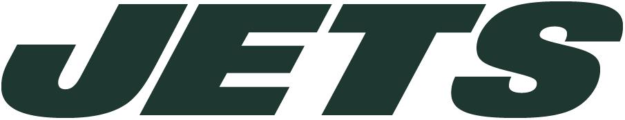 New York Jets Logo Wordmark Logo (2011-2018) - Italicized green JETS SportsLogos.Net