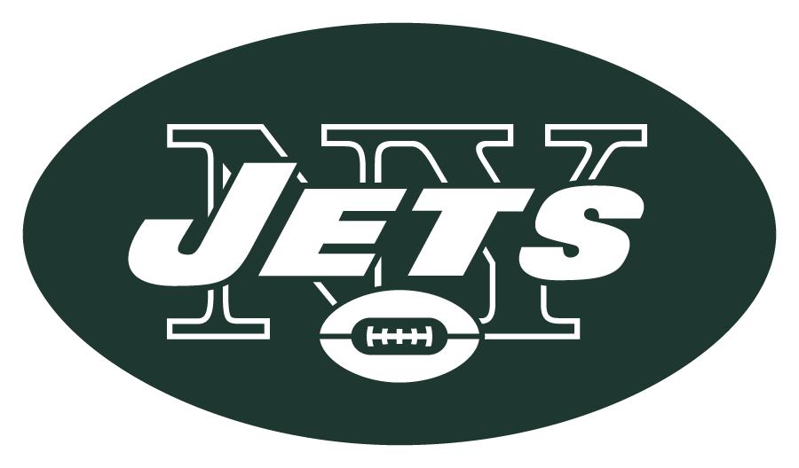 New York Jets Logo Primary Logo (1998-2018) -