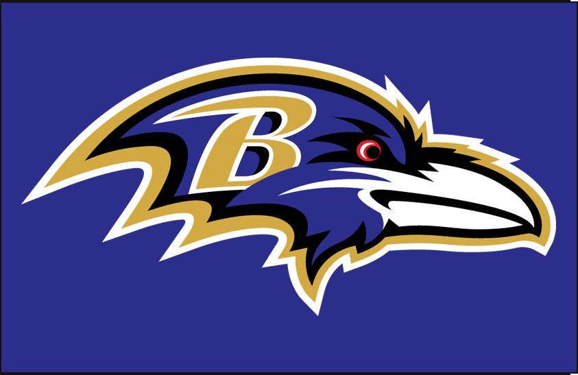 Baltimore Ravens Logo Primary Dark Logo (1999-Pres) -  SportsLogos.Net