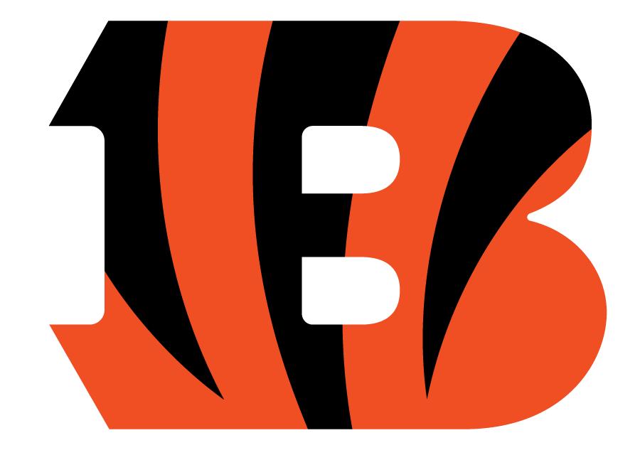 Cincinnati Bengals Logo Primary Logo (2004-Pres) - An orange B with black tiger stripes on it SportsLogos.Net