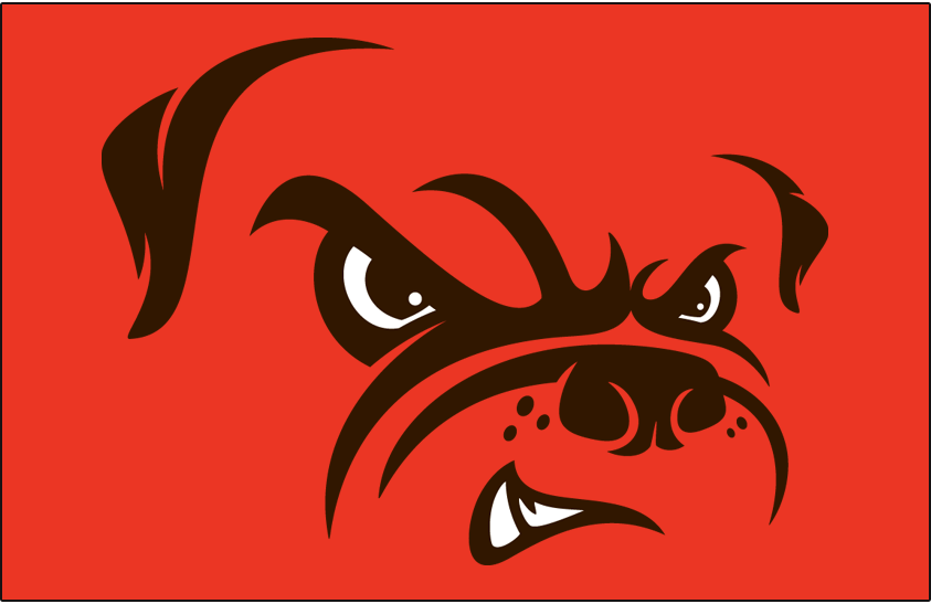 Cleveland Browns Logo Alt on Dark Logo (2015-Pres) -  SportsLogos.Net