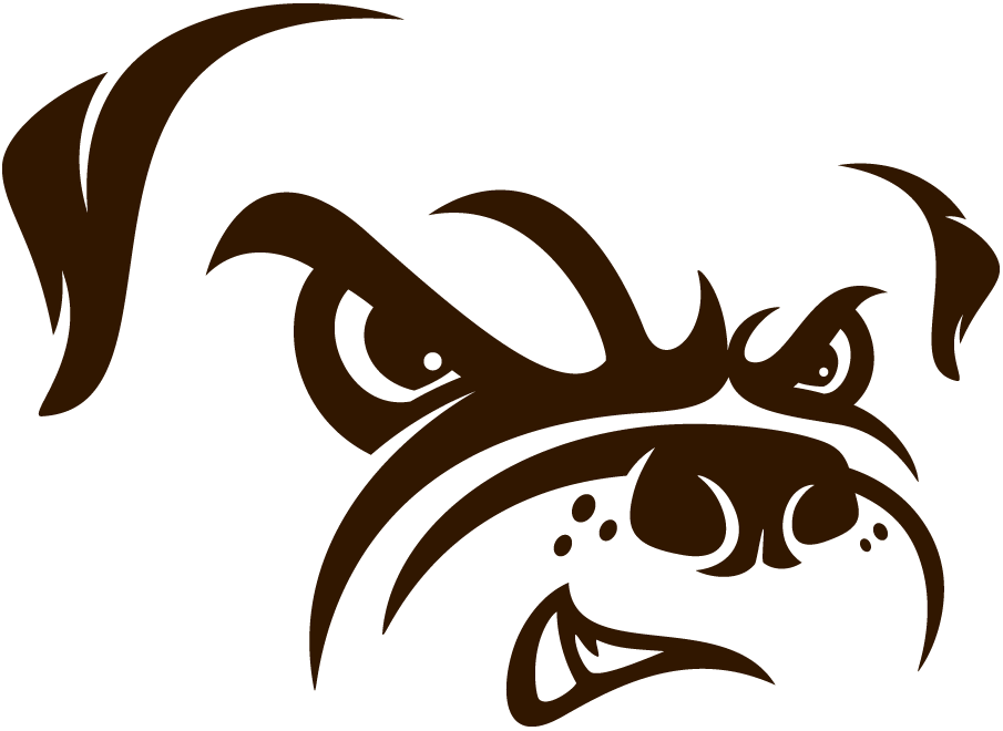Cleveland Browns Logo Alternate Logo (2015-Pres) - Bulldog profile SportsLogos.Net