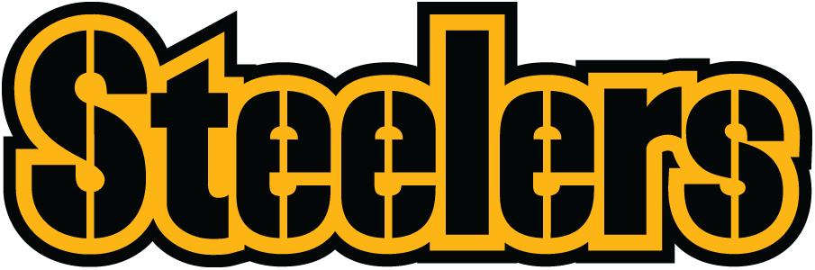 Pittsburgh Steelers Logo Wordmark Logo (2002-Pres) -  SportsLogos.Net