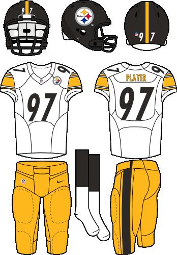 ffbdee13f37 Pittsburgh Steelers Road Uniform - National Football League (NFL ...