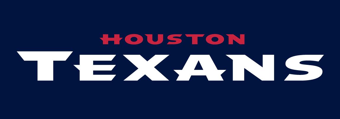 Houston Texans Logo Wordmark Logo (2002-Pres) -  SportsLogos.Net