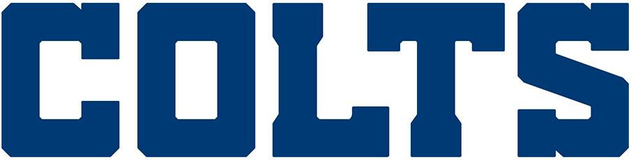 Indianapolis Colts Logo Wordmark Logo (2020-Pres) - COLTS in blue serifs SportsLogos.Net