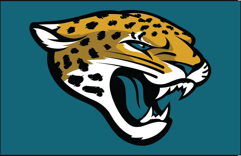 jacksonville jaguars primary on dark logo - national football league