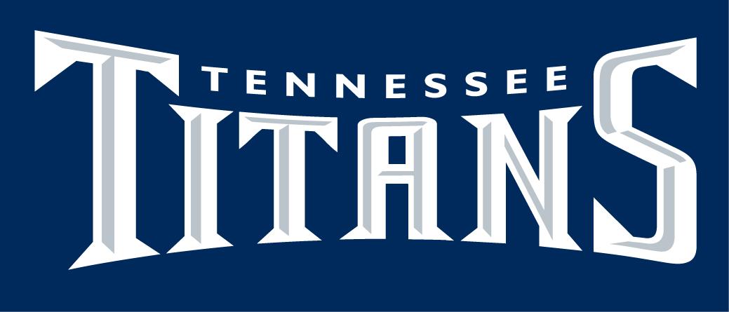 Tennessee Titans Logo Wordmark Logo (1999-2017) -  SportsLogos.Net