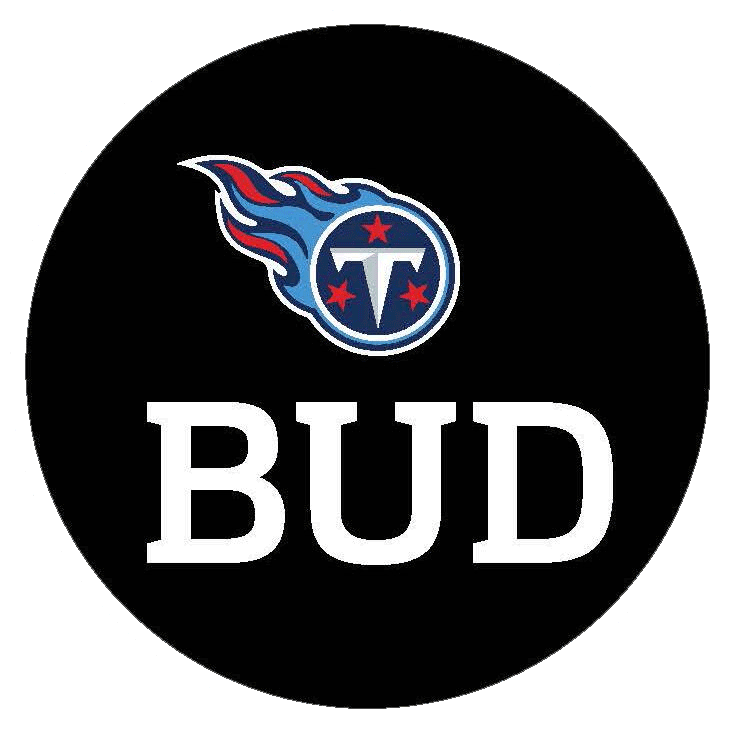 Tennessee Titans Logo Memorial Logo (2013) - Memorial patch for Tennessee Titans owner Bud Adams, worn on the Titans uniforms beginning November 3 throughout the end of the 2013 season SportsLogos.Net