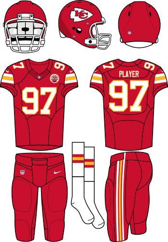 f5ec756d Kansas City Chiefs Home Uniform - National Football League (NFL ...