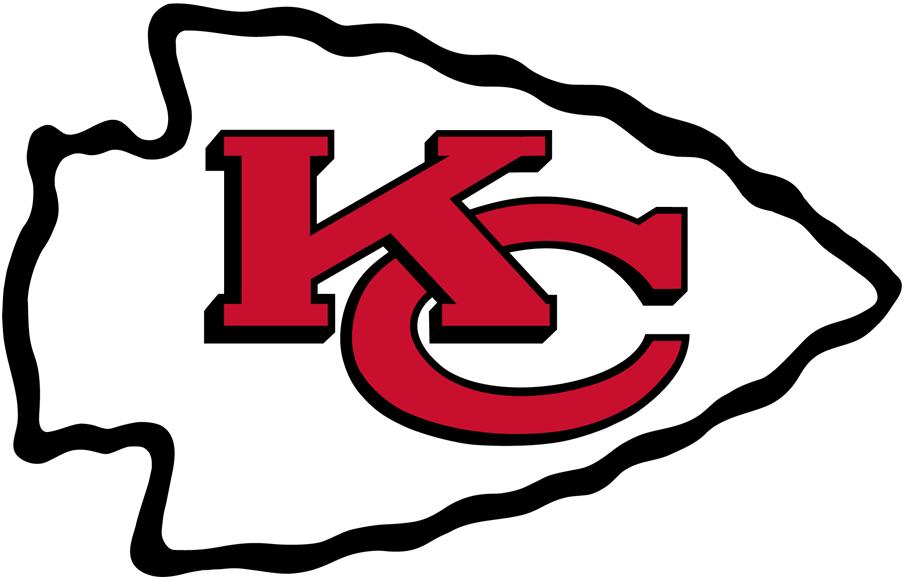 Kansas City Chiefs Logo Primary Logo (1972-Pres) - Interlocking KC in an arrowhead SportsLogos.Net