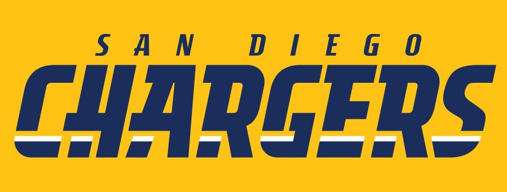 San Diego Chargers Logo Wordmark Logo (2007-2016) -  SportsLogos.Net