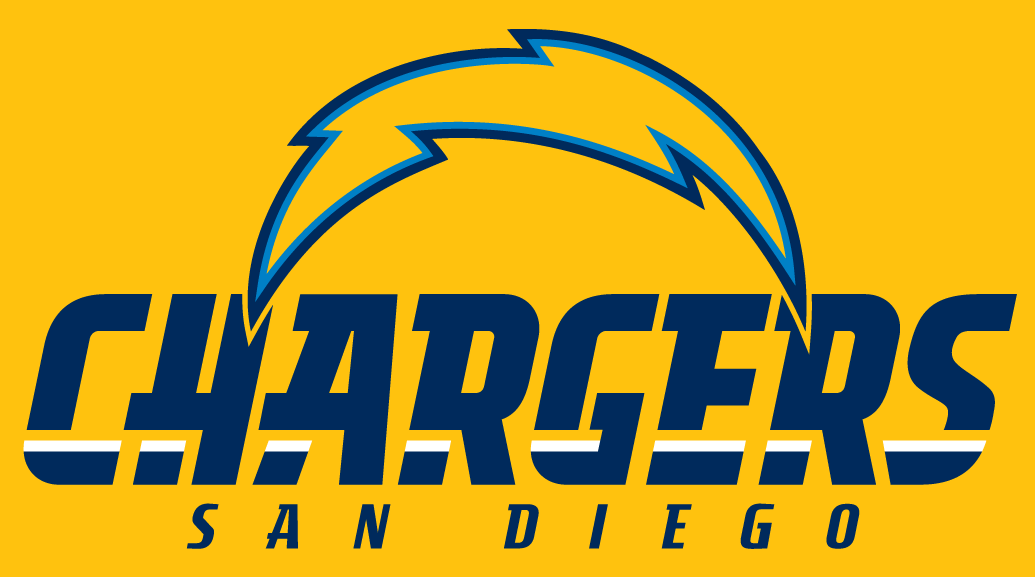 San Diego Chargers Logo Alt on Dark Logo (2007-2016) -  SportsLogos.Net