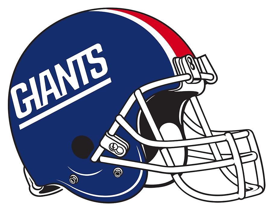 New York Giants Helmet - National Football League (NFL) - Chris Creamer's Sports Logos Page ...