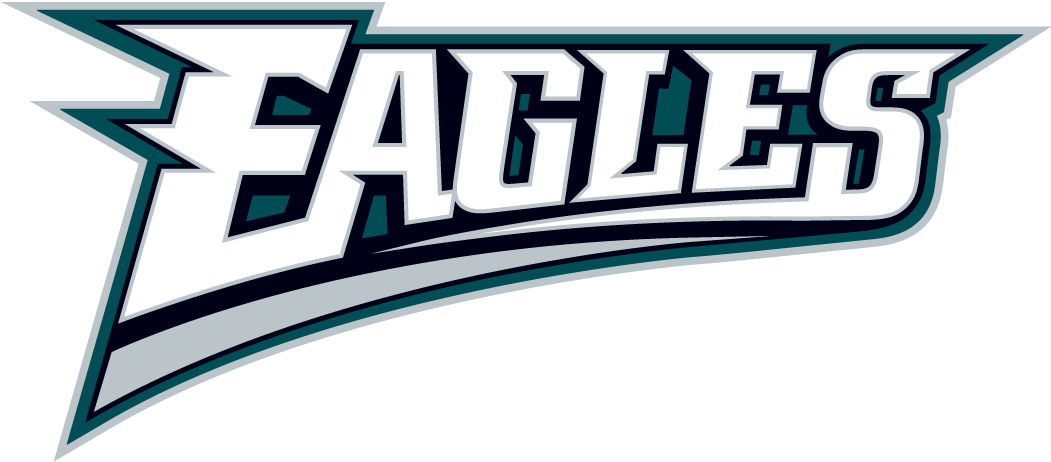 Philadelphia Eagles Logo Wordmark Logo (1996-Pres) -  SportsLogos.Net