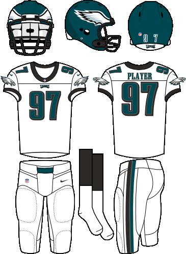outlet store ba044 cac76 Philadelphia Eagles Road Uniform - National Football League ...