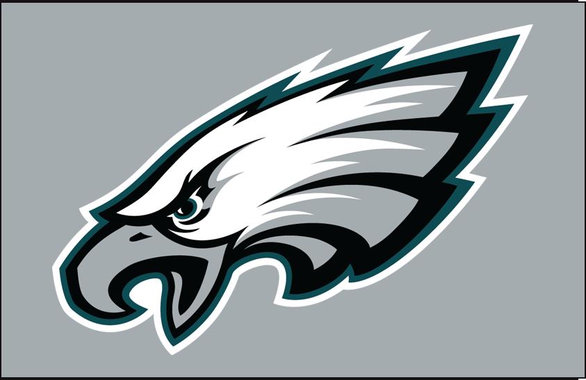 Philadelphia Eagles Logo Primary Dark Logo (1996-Pres) -  SportsLogos.Net