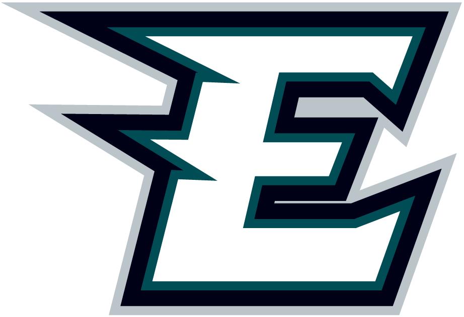 Philadelphia Eagles Logo Misc Logo (1996-Pres) - A stylized white E with a green outline SportsLogos.Net