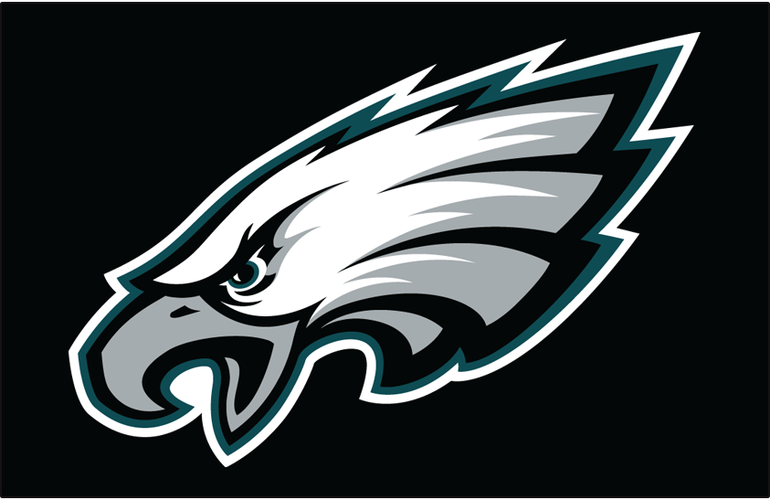 Philadelphia Eagles Primary Dark Logo National Football