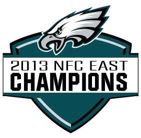 Philadelphia Eagles Logo Champion Logo (2013) - Philadelphia Eagles 2013 NFC East Division Champions Logo SportsLogos.Net