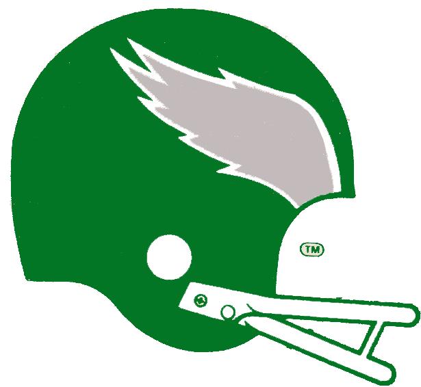 Philadelphia Eagles Logo Primary Logo (1973-1986) -  SportsLogos.Net