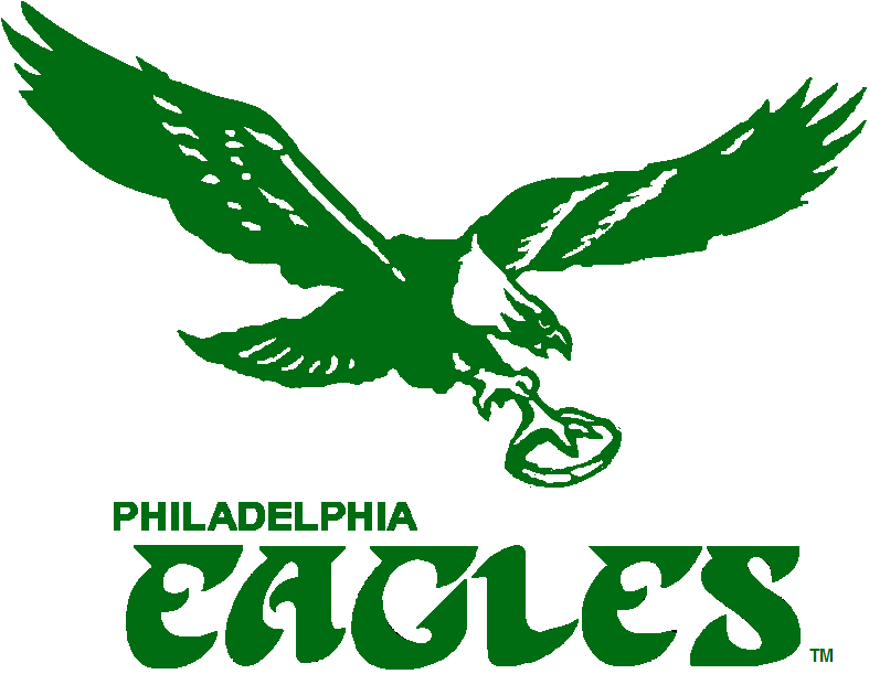 Philadelphia Eagles Alternate Logo - National Football League (NFL ... Eagle Football Logo