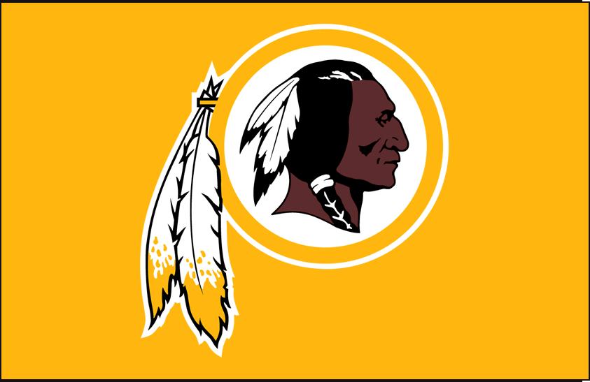 Washington Redskins Logo Primary Dark Logo (1983-2019) -  SportsLogos.Net