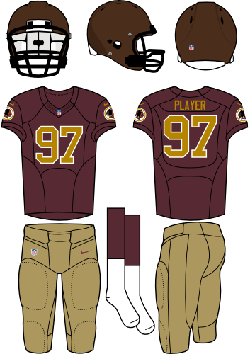 a779bc0c4 Washington Redskins Alternate Uniform - National Football League ...