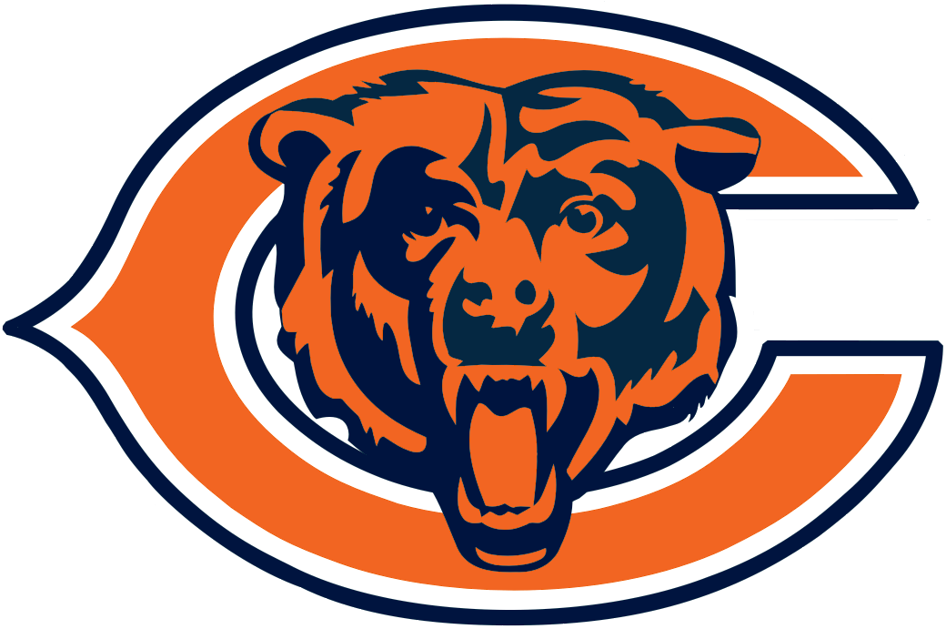 chicago bears alternate logo national football league nfl rh sportslogos net Chicago Bears Logo Wallpaper Logo Black and White Chicago Bears