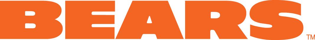 Chicago Bears Logo Wordmark Logo (1974-Pres) - Bears in wide orange capitals SportsLogos.Net