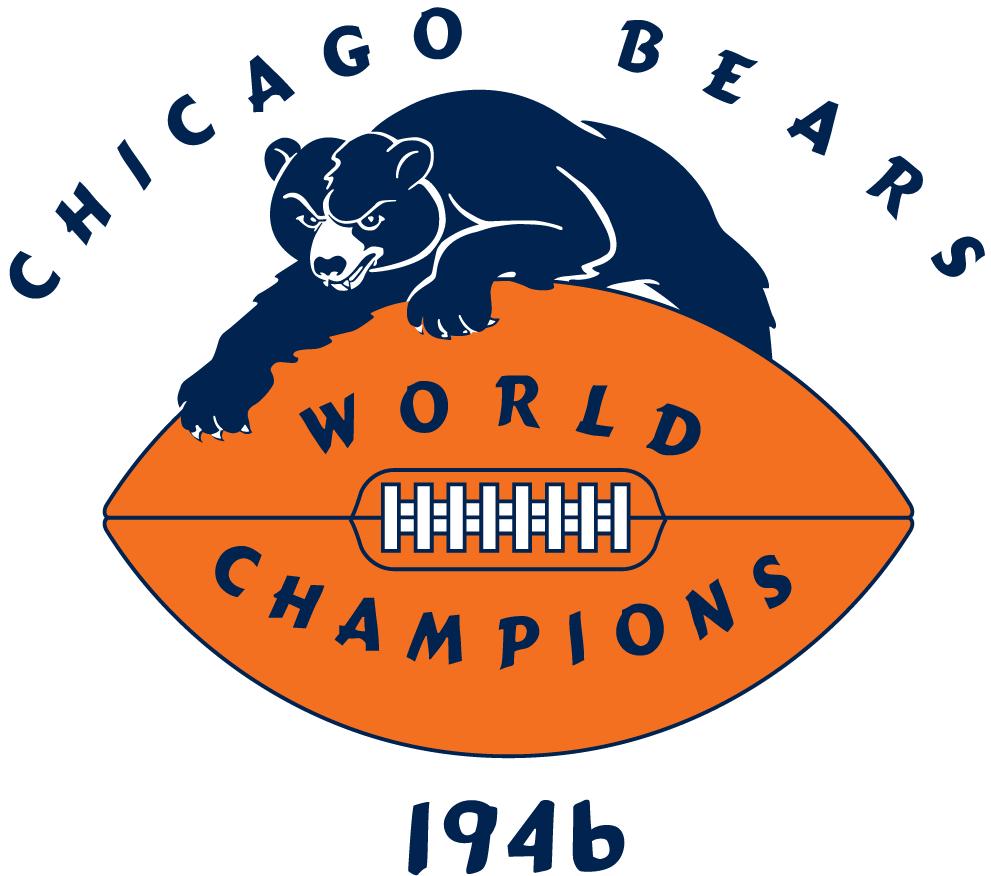 Chicago Bears Logo Champion Logo (1946) -  SportsLogos.Net
